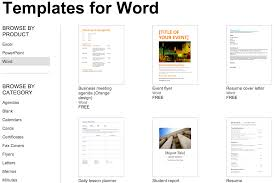 over 250 microsoft office templates documents