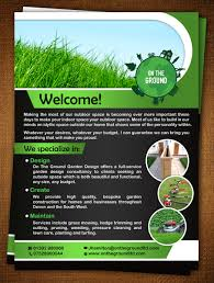 23 bold professional pressure cleaning flyer designs for a flyer design design 5670865 submitted to on the ground landscaping flyer