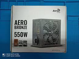 Обзор и тестирование <b>блока питания</b> AERO BRONZE 550W ...