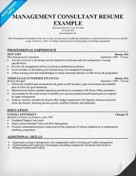Consulting Resumes Examples Consulting Resume Examples And Get     Management Consultant Resume samples