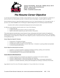 examples of career objective for resume template examples of career objective for resume