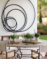 designs outdoor wall art: outdoor dining under canogar sculpture cadiz spain designed by architect pedro riveiro pita middot outdoor metal wall artmetal