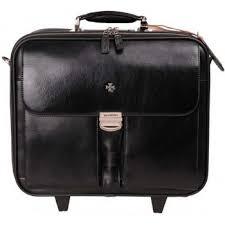 Дорожный портфель Vasheron 9806 черного цвета - CarryBag