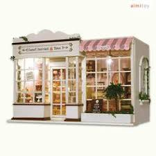 a29 small wood doll house cake shop diy kits for kids in model aliexpresscom buy 112 diy miniature doll house