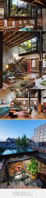 loft living room casualloft livingroom caviar old warehouse converted into the sensational nyc loft garden sp