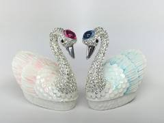 sale promise of love jewelry storage boxes with a loving pair of swans buy feng shui