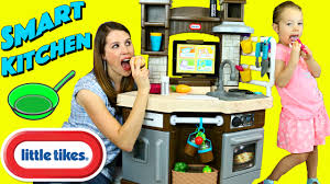 tikes cook play outdoor bbq kitchen little tikes cook n learn smart kitchen ipad app slicing food cooking