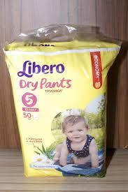 Обзор от покупателя на <b>Подгузники</b>-трусики <b>Libero Dry</b> Pants ...