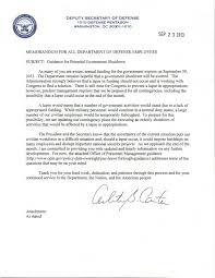 memo prepares dod employees for possible government shutdown dodlive photo dod potential shutdown memo