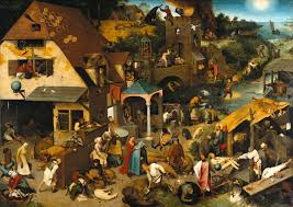 a picture is worth a thousand words european studies blog a prominent example is pieter bruegel s painting netherlandish proverbs