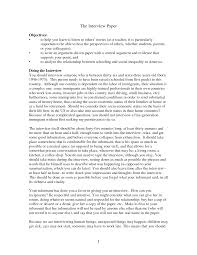 sample interview essay writing informational interview essay
