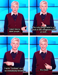 And now for something completely different- Ellen Memes - A Small ... via Relatably.com