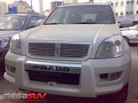 <b>Защитная накладка переднего бампера</b> Toyota Land Cruiser ...