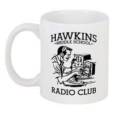 Кружка <b>Очень странные дела</b>. Радиоклуб Хоукинса #2312783 в ...