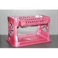 <b>Сушилка для посуды</b> розовая