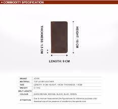 <b>JOYIR Men</b> Genuine Leather Wallet <b>Men</b> Wallets Card Holder ...