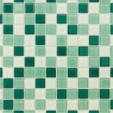 <b>Мозаика Caramelle</b> Peppermint <b>стеклянная</b> 298х298х4 мм ...