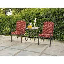 wicker steel piece bistro set outdoor alexandria balcony set high quality patio furniture