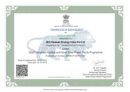 certifications paawan energy we offer best way to get enrolled certifications