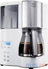 <b>Кофеварка капельная Melitta Optima</b> Timer 850Вт белый — купить ...