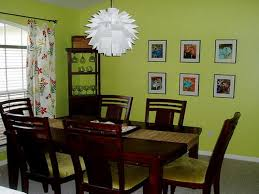 Beautiful Cool Dark Brown Dining Table Sets Also Nice Green Dining - Dining room paint colors 2014