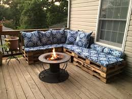 patio couch reclaimed pallet