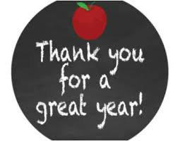 Image result for Thanks for a great school year!