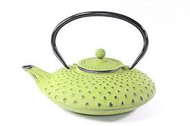 Home & Garden Teapots Shale Green <b>Sakura</b> 37 Ounce <b>Cast</b> Iron ...