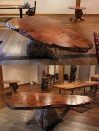 wood slab dining table beautiful: wine barrel pub table or bar with live edge young growth redwood bar top full of curl and beautiful color tones wood slabs native to usa