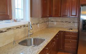 limestone tiles kitchen: travertine subway tile kitchen backsplash with a mosaic glass tile border youtube