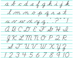 Images & Illustrations of cursive