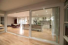 large sliding patio doors: how large sliding glass doors enhance your interior and exterior outstanding kitchen idea which presented with