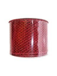 Новогодняя <b>лента Красная сетка</b>, 270х6,3x0 Новогодняя ...