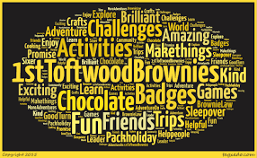 1st toftwood brownies about us some words our brownies used to describe 1st toftwood brownies and what we get up to