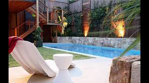 Small Picture Home Pool garden design ideas YouTube