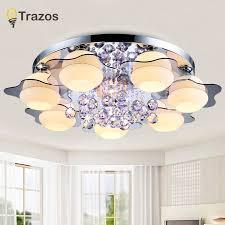 modern square led ceiling light living room bedroom lighting fixtures home decor white acrylic lamp luminaria 110 220v