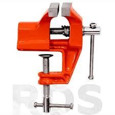 """<b>Тиски слесарные</b> 75 мм, крепление для стола """"<b>SPARTA</b>"""" / 185115 ..."""