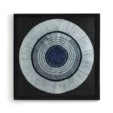 <b>Украшение настенное</b> sashiko, в.120 см синий индиго Am.Pm | <b>La</b> ...