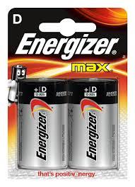 """<b>Батарейка Energizer</b> """"<b>Max</b>"""", тип <b>D</b>/<b>LR20</b>, 1,5 V, 2 шт — купить в ..."""