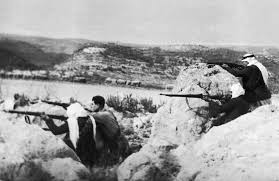 how the i palestinian conflict reached this point the arab iers guarded a road on 10 1948 during the arab i