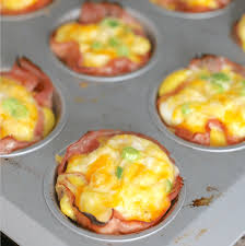 LOW CARB BAKED HAM AND <b>EGG CUPS</b> | The Country Cook