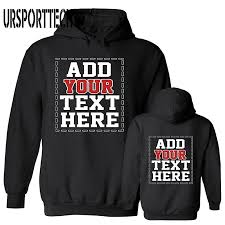 <b>URSPORTTECH</b> Customized With Own Logo Pullover Hoodies Men ...