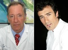 El director gerente del Hospital Galdakao-Usansolo, Santiago Rabanal, y el cocinero vasco Eneko Atxa. - guia_PV.com(1)