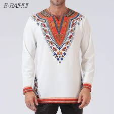 <b>E BAIHUI new</b> Odeneho Wear Men's White Polished Cotton Top ...