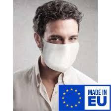 Reusable Handmade <b>Two Layer Cotton</b> Face <b>Mask</b>, <b>White</b>, One Size ...
