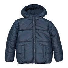 <b>Куртка стеганая</b> на подкладке из флиса, 3-12 лет синий морской ...