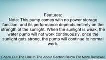 Solar Fiber Optic Light Fountain Garden Stake Review - Vidéo ...