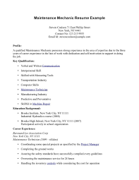 resume cover letter for maintenance mechanic resume and cover letter coaching resume cover letter samples livecareer