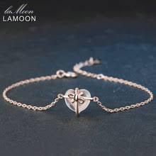 <b>Женский браслет в</b> форме сердца, из стерлингового серебра ...