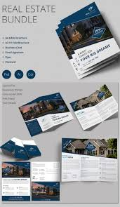 real estate flyer psd ai vector eps format creative real estate bundle brochure flyer and more
